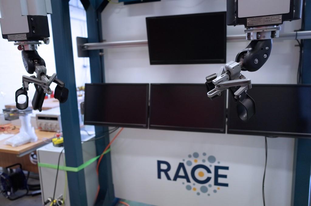 RACE Robot Arms