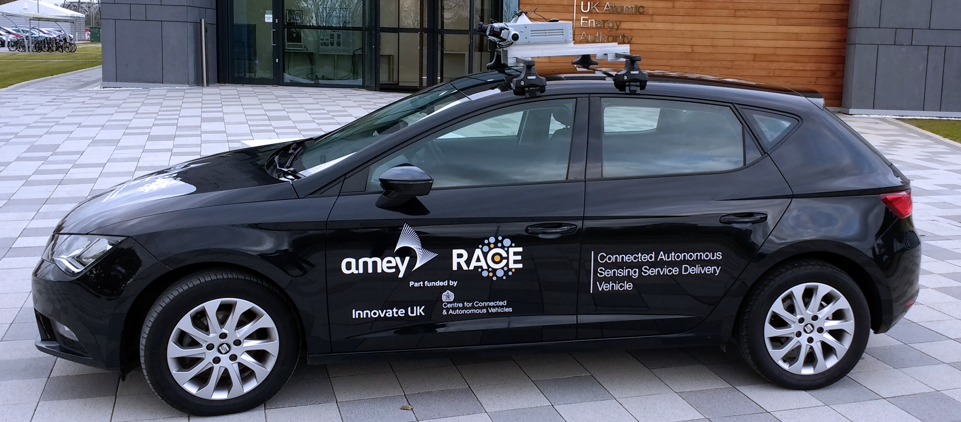 RACE Connected Autonomous Sensing Service Delivery Vehicle