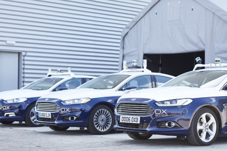 RACE Oxbotica Driven Fleet
