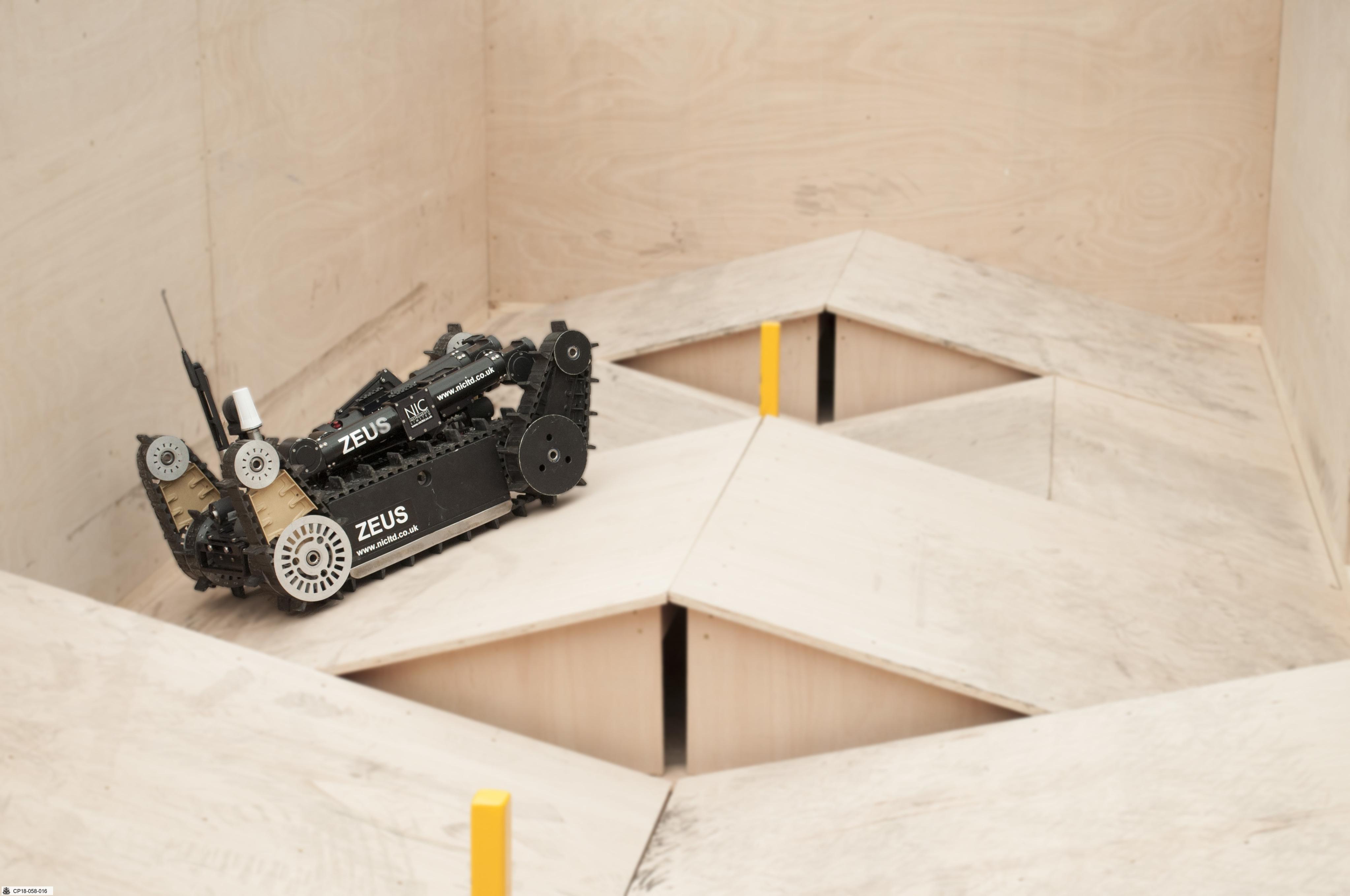 UGV and UAV Test Lanes
